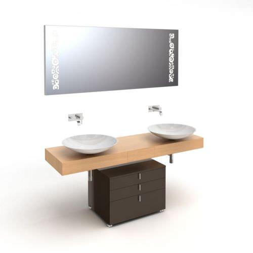 Wooden Bathroom Sink : Wooden Bathroom Sink 3D Model - CGTrader.com