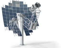 Model Solar Collector