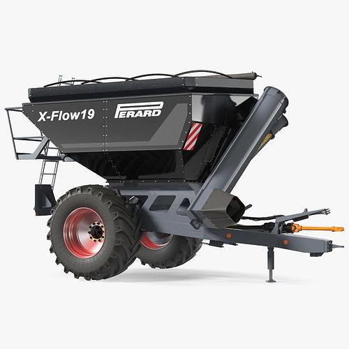 Perard X-Flow 19 Transbordeur Black New