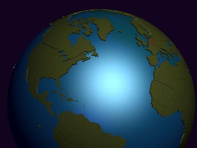 Earth political globe 3d political cgtrader earth political globe 3d model gumiabroncs Images