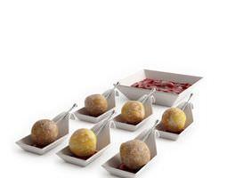 3D model Postmodern Pastry Presentation