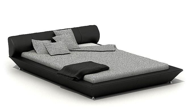 Zebra Bedroom Set3D model