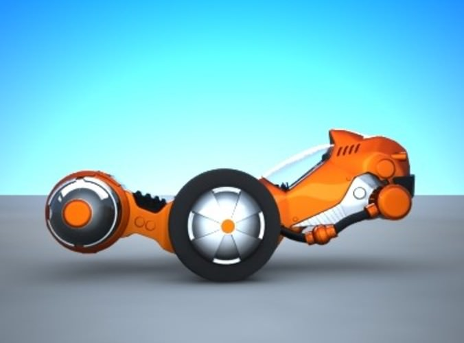 Apeiron Concept Vehicle 3D Model .max