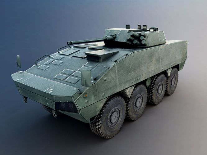 Armored Military Vehicle3D model