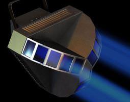 3D Blue Handheld Spotlight