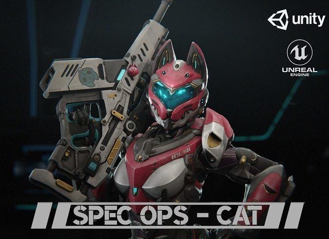 Yui - SpecOps Cat