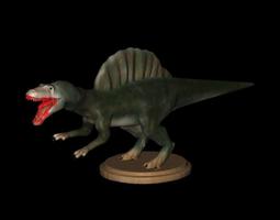 replica dinosaurs spinosaurus full color 3d printer