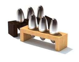 3D Kitchen Spice Holders