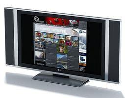 3D model Flat Screen Television