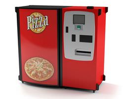 pizza maker machine 3d
