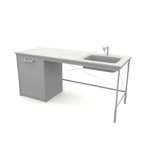 Kitchen Sink Model: Modern Kitchen Sink 3D Model- CGTrader.com