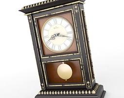 Mantel Clock 10 3D Model