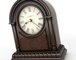 Mantel Clock 05 3D Model