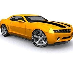 Bumblebee Chevrolet Camaro 3D asset