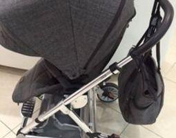 3d printable model simple stroller bag hook