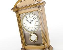 Mantel Clock 06 3D Model