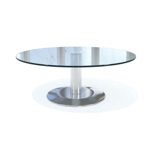 Round glass dining table 3d model for New model dining table