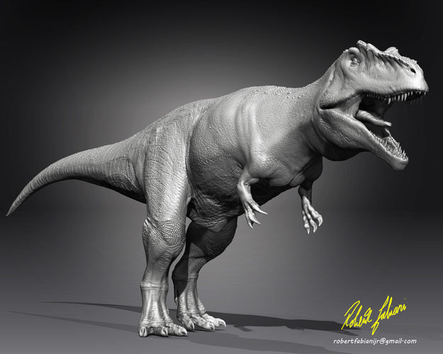 giganotosaurus3dprint 3d model stl 1