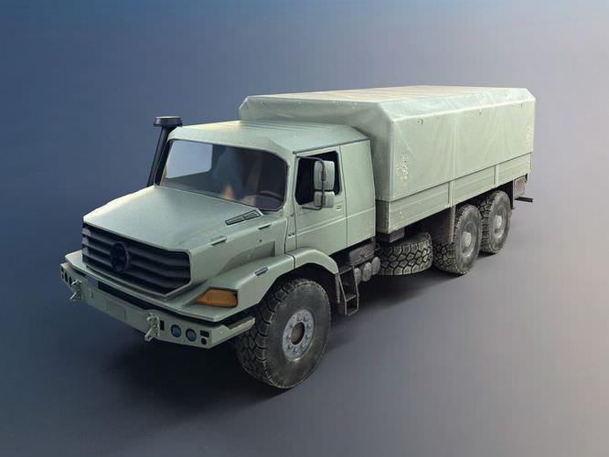 Military Transportation Truck3D model