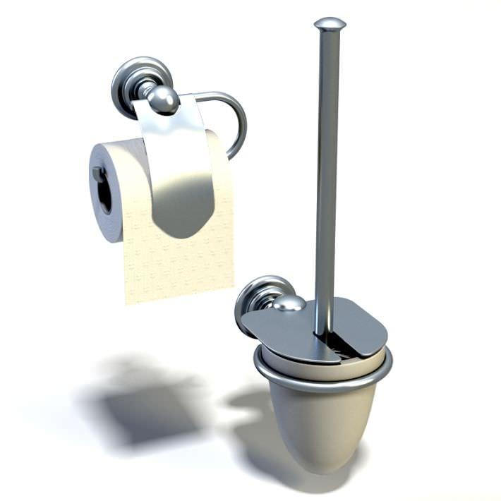 Bathroom gadgets tissue holder 3d model - Five modern gadgets for a functional bathroom ...