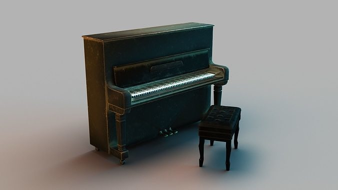 Older upright piano