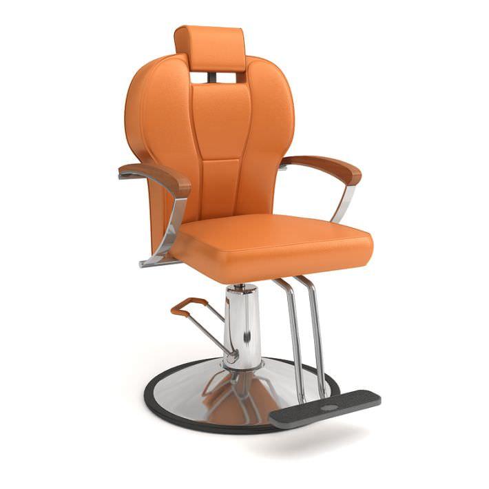 Beauty Salon High End Chair Model Obj 1