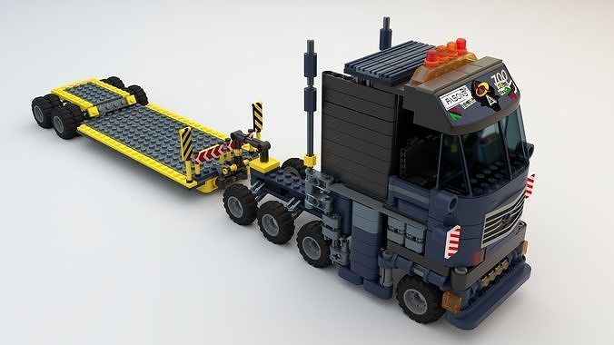 Lego Truck and worker