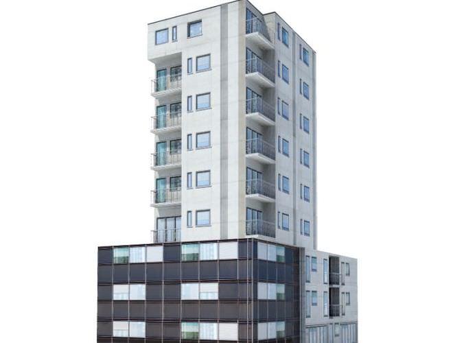 9 Story Residential Building3D model