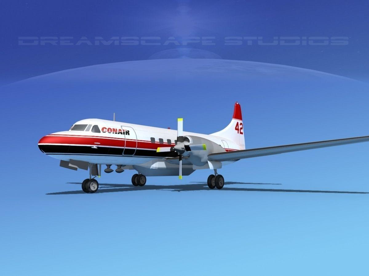 Convair CV-580 Conair Firefighter