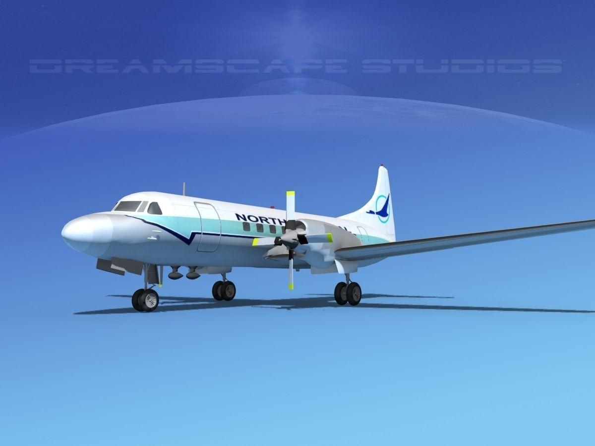 Convair CV-580 North Central