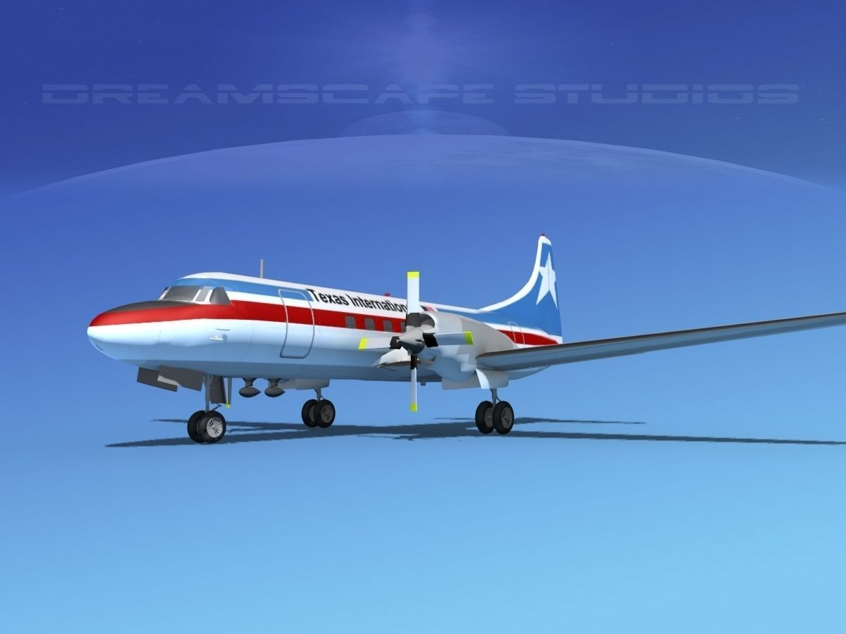 Convair CV-580 Texas Intl