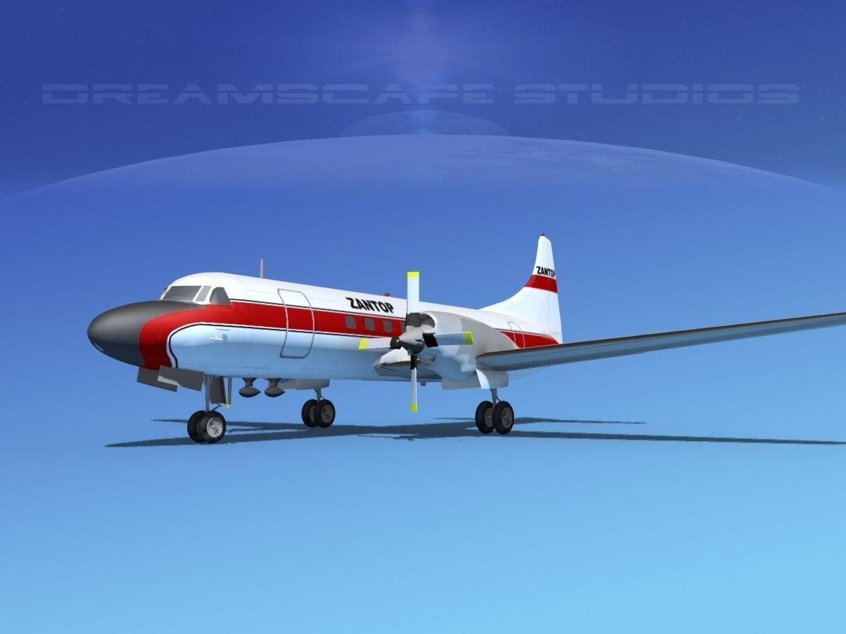 Convair CV-580 Zantop