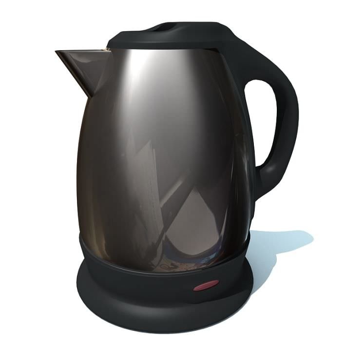 Charcoal Grey Stainless Steel Gray Kettle