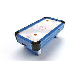 Air Hockey Game Table 3D