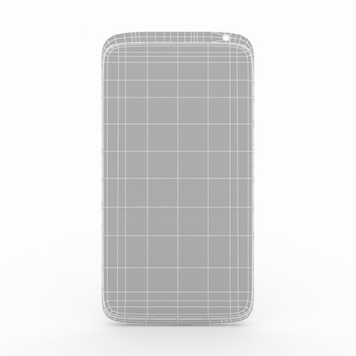 HTC One X 3D Model .max .obj .fbx .c4d