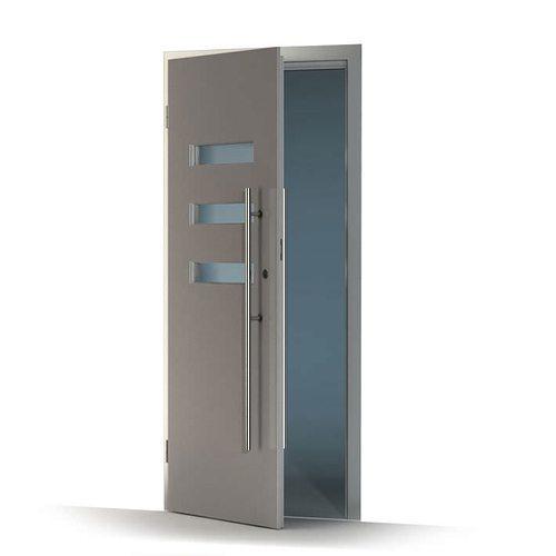 Modern metal door 3d model cgtrader for Door 3d model