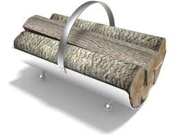 silvermetal log carrier 3d