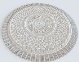 3D knit carpet hand-made