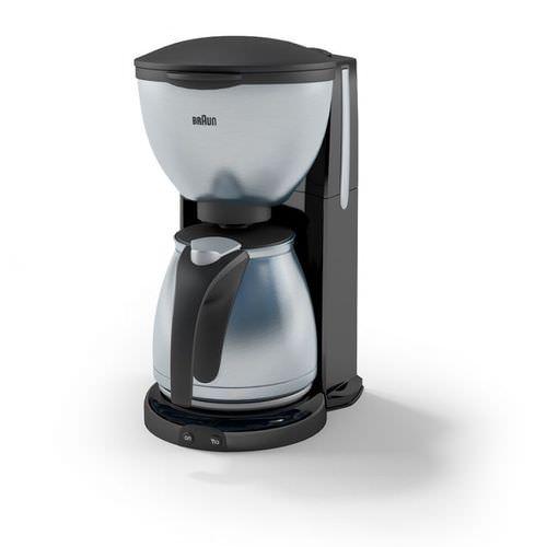 Coffee Maker: Braun 3D Model- CGTrader.com