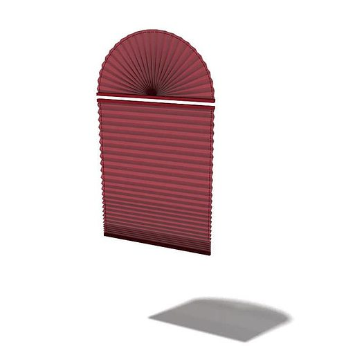 roman maroon shade 3d model  1