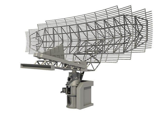 AN SPS-49 AIR SEARCH RADAR