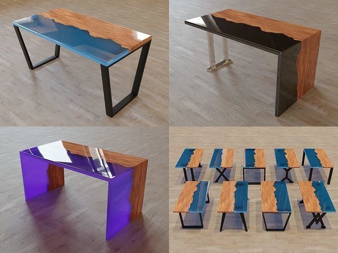 Epoxy Table Pack Vol1