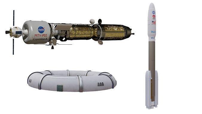 Spaceship 3D models