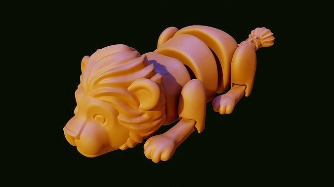 Lion toy segment