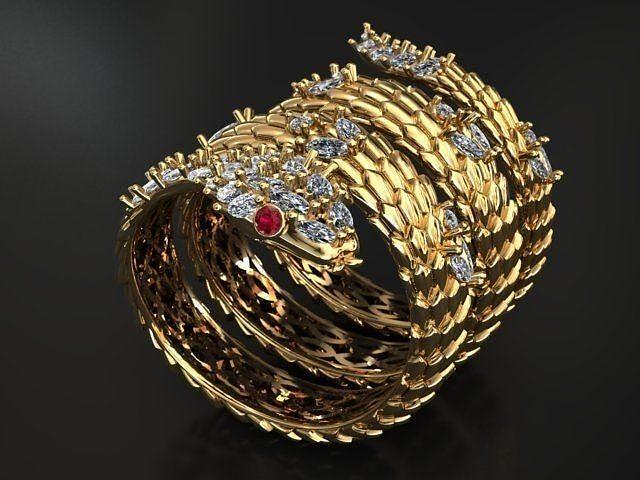 Snake ring