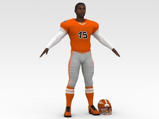 American Football Player V2