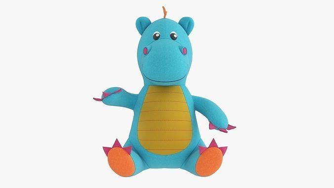 Dragon toy soft