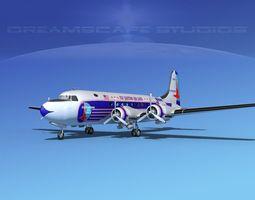 3D Douglas DC-4 Eastern Airlines 1