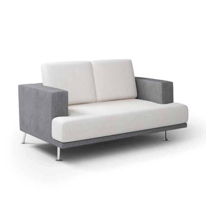 Modern gray sofa 3d model for Sofa 3d model
