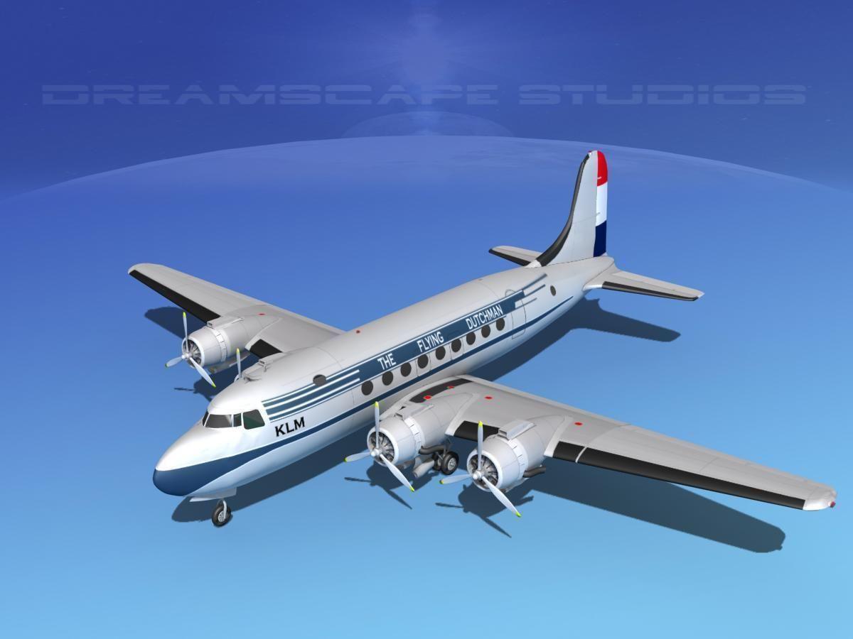 Douglas DC-4 KLM Airlines